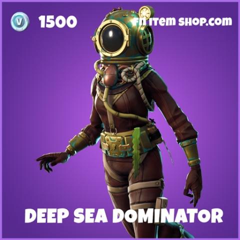 Deep Sea Dominator epic fortnite skin
