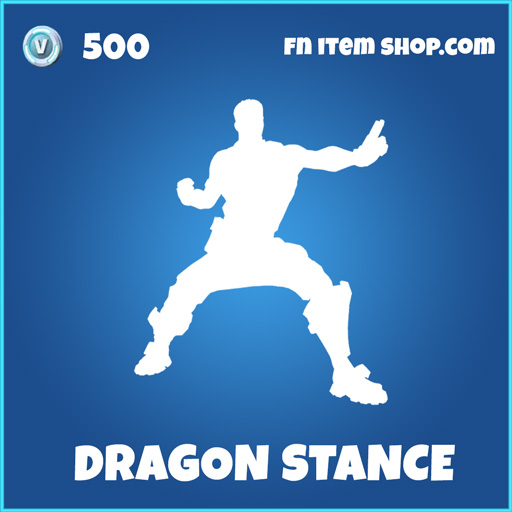 dragon stance rare fortnite emote