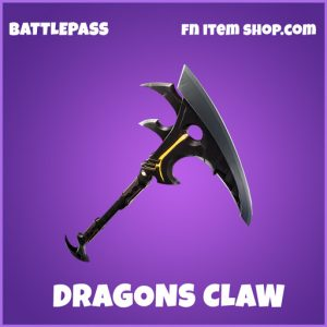 Dragon's Claw epic pickaxe