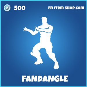 fandangle rare fortnite emote