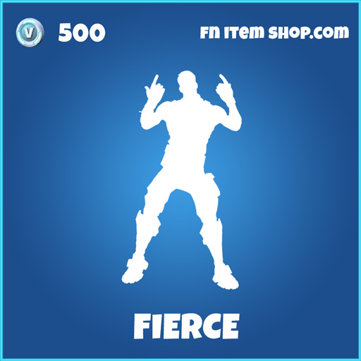 fierce rare fortnite emote