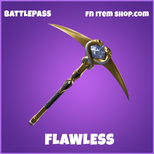 flawless epic fortnite pickaxe