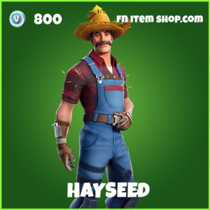 Hayseed uncommon fortnite skin