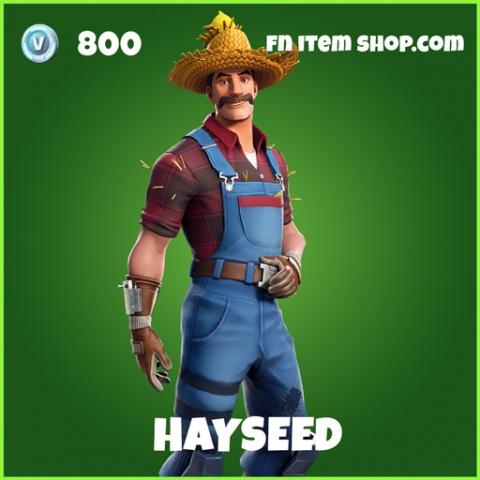 Hayseed uncommon fortnite skin