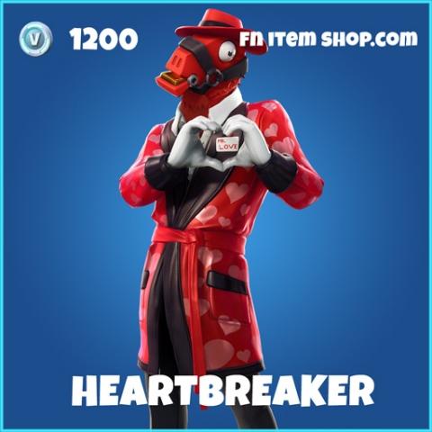 Heartbreaker rare fortnite skin