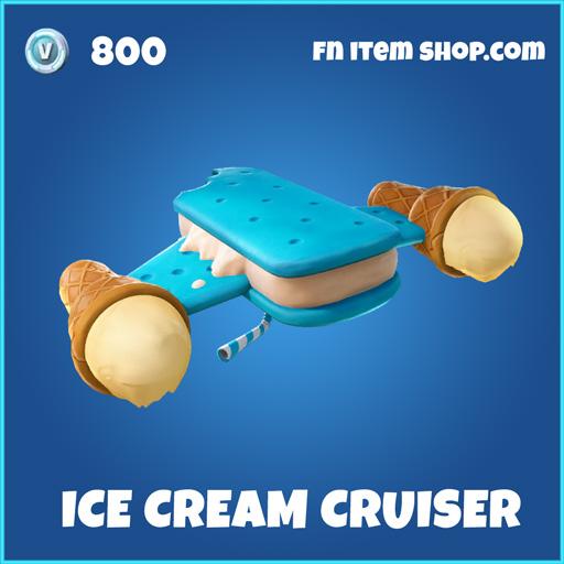 Ice Cream cruiser rare fortnite glider