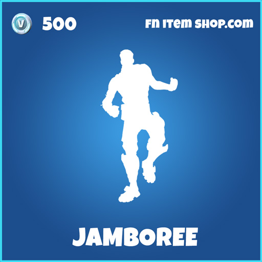 Jamboree rare fortnite emote