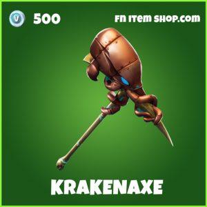 Krakenaxe uncommon fortnite pickaxe