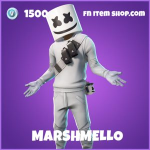Marshmello epic fortnite skin