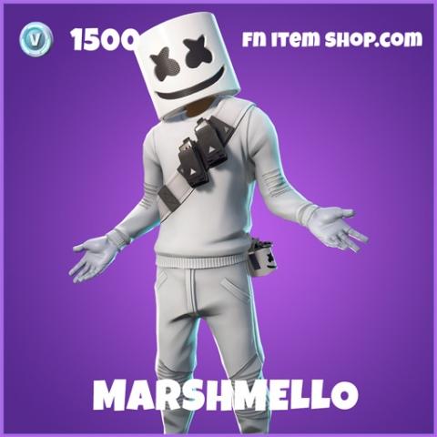 Marshmello epic fortnite skin