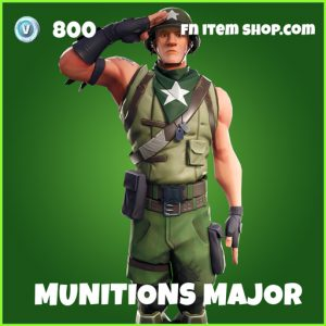 Munitions Major uncommon fortnite skin