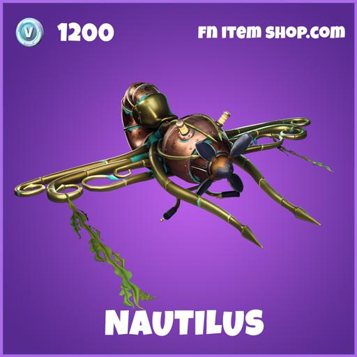 Nautilus Epic fortnite glider
