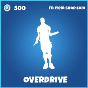 Overdrive rare fortnite emote