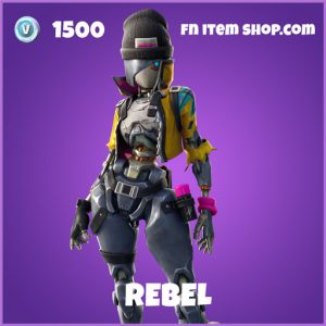 Rebel epic fortnite skin
