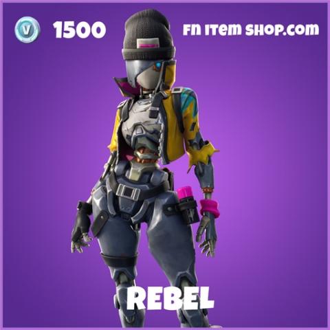 Rebel epic fortnite skin