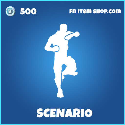 scenario rare fortnite emote