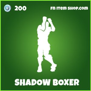 Shadow boxer uncommon fortnite emote