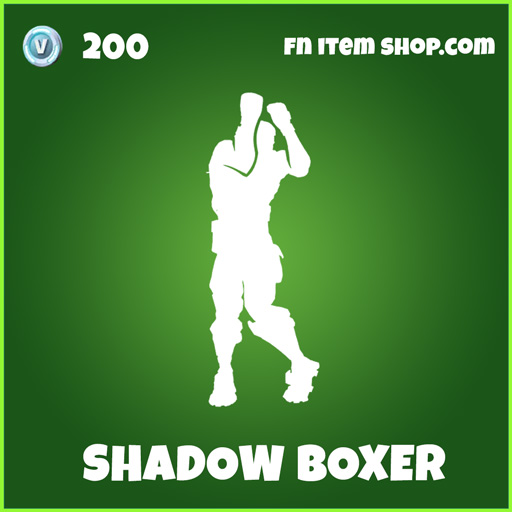 Shadow boxer uncommon fortnite emote