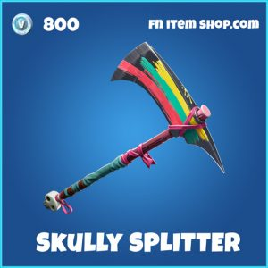 Skully Splitter rare fortnite pickaxe