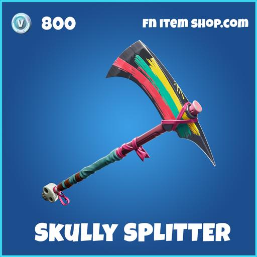 Skully Splitter rare fortnite pickaxe