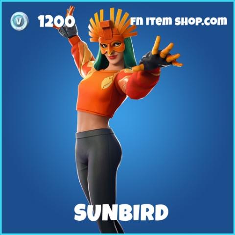 SUnbird rare fortnite skin