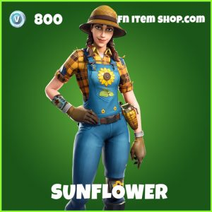 Sunflower uncommon fortnite skin