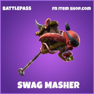 Swag masher epic fortnite pickaxe