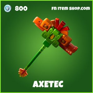 Axetec rare fortnite pickaxe