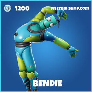 Bendie rare fortnite skin