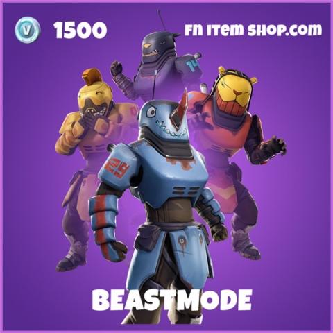 Beastmode epic fortnite skin