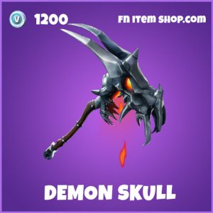 Demonskull epic fortnite pickaxe