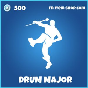 Drum major rare fortnite emote