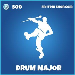 Drum major rare fortnite emote