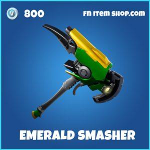 Emrald Smasher rare pickaxe