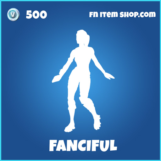 fanciful rare fortnite emote