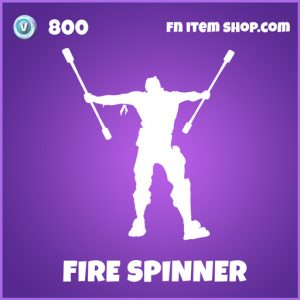 Firespinner epic fortnite emote