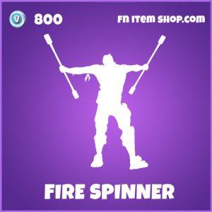 Firespinner epic fortnite emote