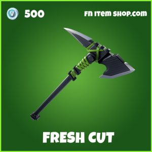 fresh cut uncommon fortnite pickaxe