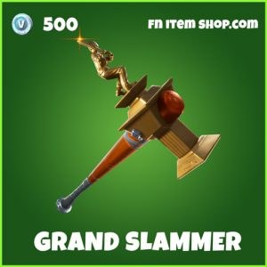Grand Slammer uncommon fortnite pickaxe