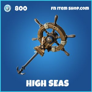high seas rare fortnite pickaxe