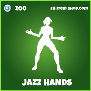 jazz hands uncommon fortnite emote