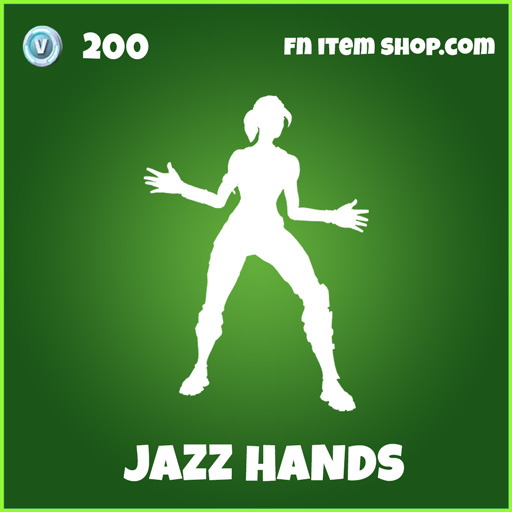 jazz hands uncommon fortnite emote
