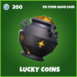 Lucky Coins uncommon backpack