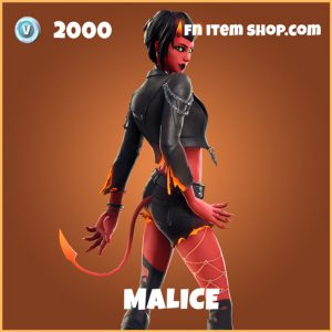 Malice legendary fortnite skin