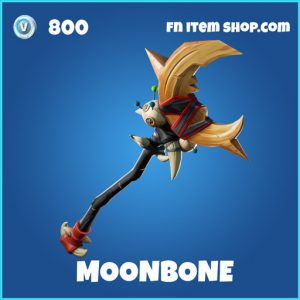 moonbone rare fortnite pickaxe