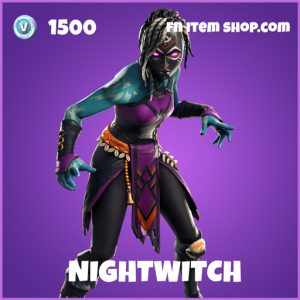 Nightwitch epic fortnite skin