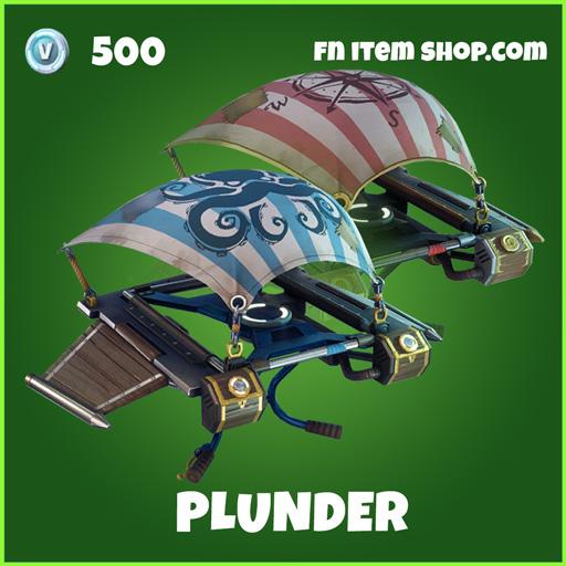 Plunder uncommon fortnite glider
