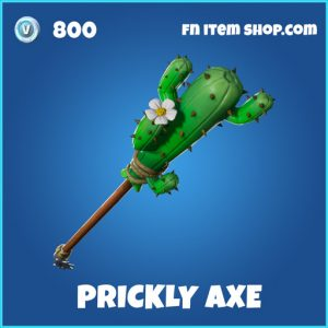 prickly axe rare fortnite pickaxe