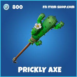 prickly axe rare fortnite pickaxe