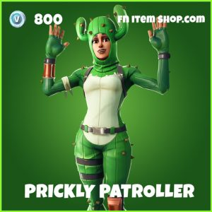 prickly patroller uncommon fortnite skin